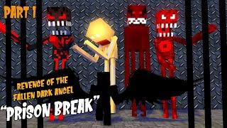 "Monster School Season 3:PART 1 DARK ANGEL | REVENGE OF THE FALLEN ""JAIL BREAK "" -Minecraft Animation"