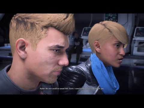 Scott Ryder Wakes Up After Coma - Mass Effect: Andromeda