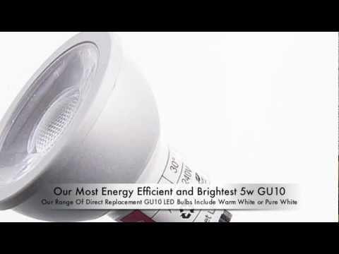 Technology Degree Bulb 430 5w Lumens Led 30 Cob Gu10 Youtube vm80wNnO