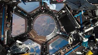 International Space Station Cupola -  Zoom virtual background 1280x720px