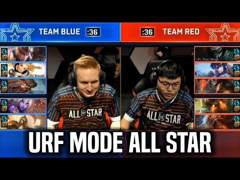URF MODE ALL-STAR 2018 - League Of Legends AR URF MODE All Star 2018