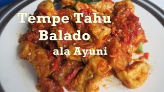Video Resep Tahu Tempe Balado Mudah download MP3, 3GP, MP4, WEBM, AVI, FLV Agustus 2017