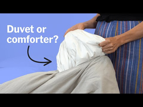 Comforter, Duvet, And Duvet Cover: What's The Difference?