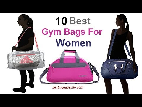 Best Gym Bags For Women Ten Stylish Designer