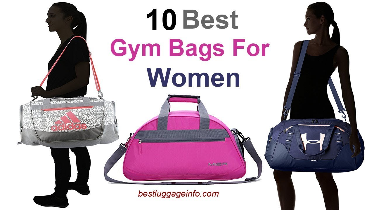 Best Gym Bags For Women Ten Stylish Designer