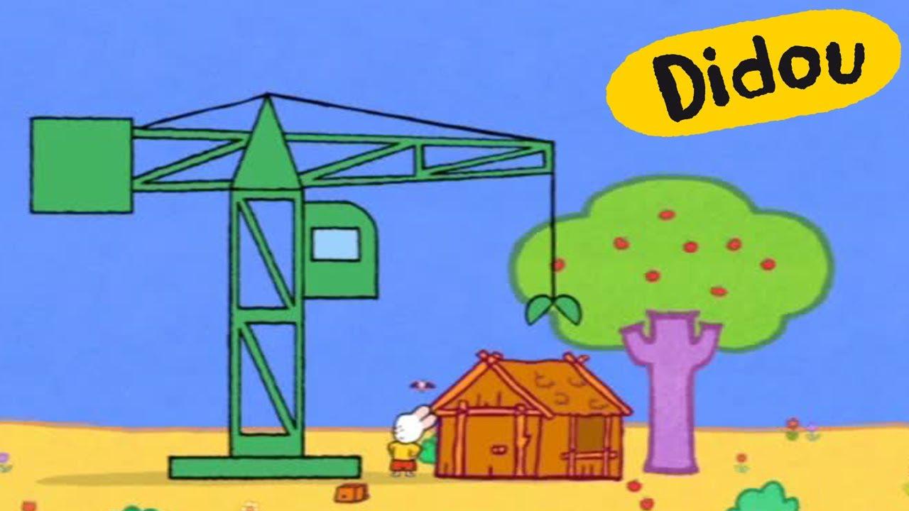 Grue didou dessine moi une grue dessins anim s pour - Dessin de grue ...
