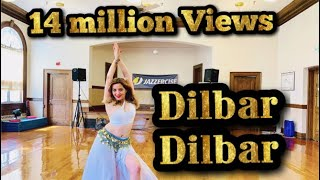 DILBAR  Satyameva Jayate  John Abraham Nora Fatehi  Easy Dance Steps  Belly Fitness  By KK