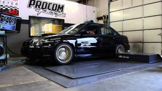 Dyno pull at Procom Race Systems - Tom