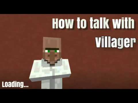 how to make a custom villager in minecraft pe