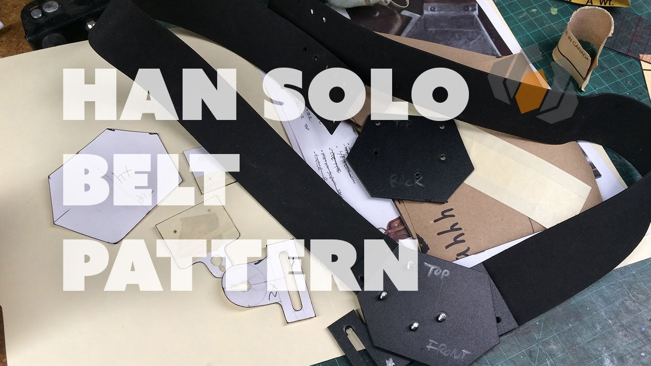 graphic relating to Printable Holster Patterns called Prop: Stay versus the Retail outlet - Patterning Han Solos Belt Holster