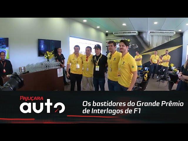 Os bastidores do Grande Prêmio de Interlagos de F1