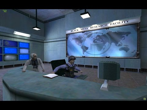 HALF-LIFE (PC) Part-1 gameplay, 1998, Sierra Studios/Valve Corporation