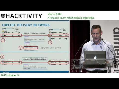 Marosi Attila – A Hacking Team rosszindulatú programjai