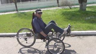 Самодельный велосипед трехколесный.(Самодельный велосипед частично доработан , видео наглядно показывает результат. Спасибо обладателю этой..., 2015-10-21T01:07:40.000Z)