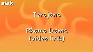 Gambar cover Terajana - Rhoma Irama (video lirik)