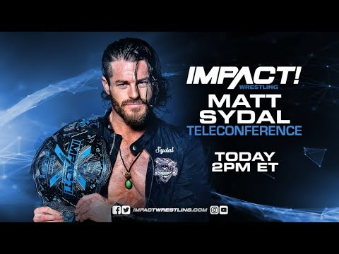 Matt Sydal Teleconference Live Stream | May 10, 2018 at 2 PM ET