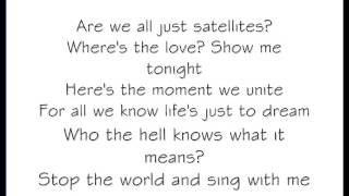 James Blunt - Satellties (With Lyrics)