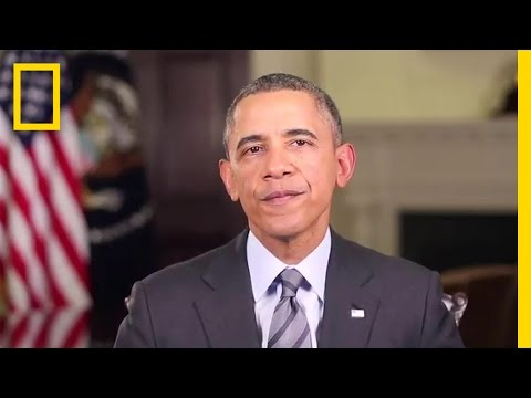 President Obama's COSMOS duction  Cosmos: A Spacetime Odyssey