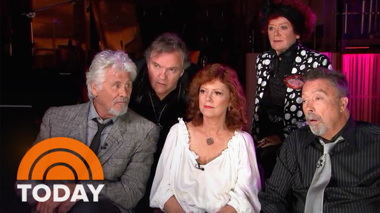 rocky horror picture show cast reunites for 40th anniversary