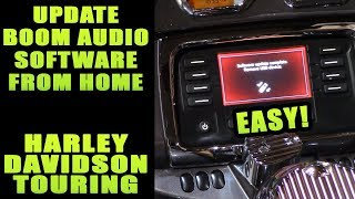 How to update Harley Davidson Infotainment Boom Box from home