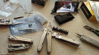 Новый заказ - Leatherman BIG KILLER Silver - mod by Slava W