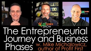 The Entrepreneurial Journey and Business Phases with Mike Michalowicz