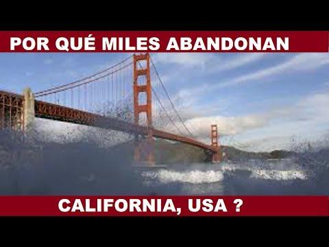 PORQUE MILES DE  PERSONAS ABANDONAN CALIFORNIA DE FORMA MASIVA?