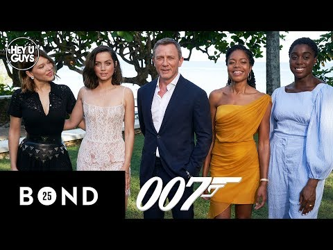 James Bond 25 Interviews - Daniel Craig, Naomie Harris, Léa Seydoux, Ana de Armas, Lashana Lynch