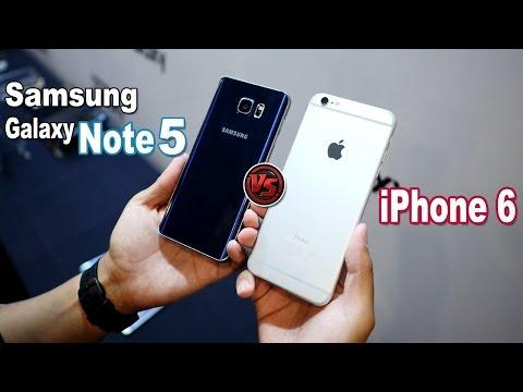 Samsung Galaxy Note 5 vs iPhone 6 Plus | Comparativa | ¿Cuál es Mejor?