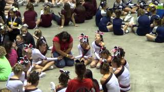 Fort Osage Indians Pee Wee Cheer TEAM 2013