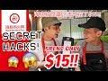 TRYING HAIDILAO SECRET HACKS & SPENT ONLY $15 (SO CHEAP)!! 海底捞隐藏吃法只花了$15!!