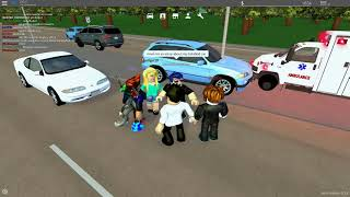 roleplaying in greenville beta as a ambulance in roblox