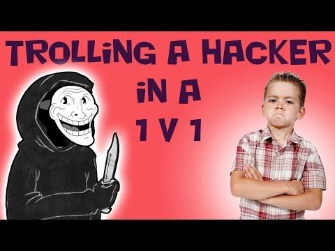 Trolling a Hacker in a 1v1 on COD 4