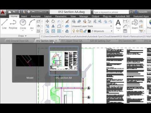 Tips AutoCAD: Pestañas o Tabs, Manejo de capas, Archivos referencia o ...