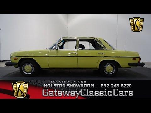 740 HOU 1976 Mercedes 300D Gateway Classic Cars Houston