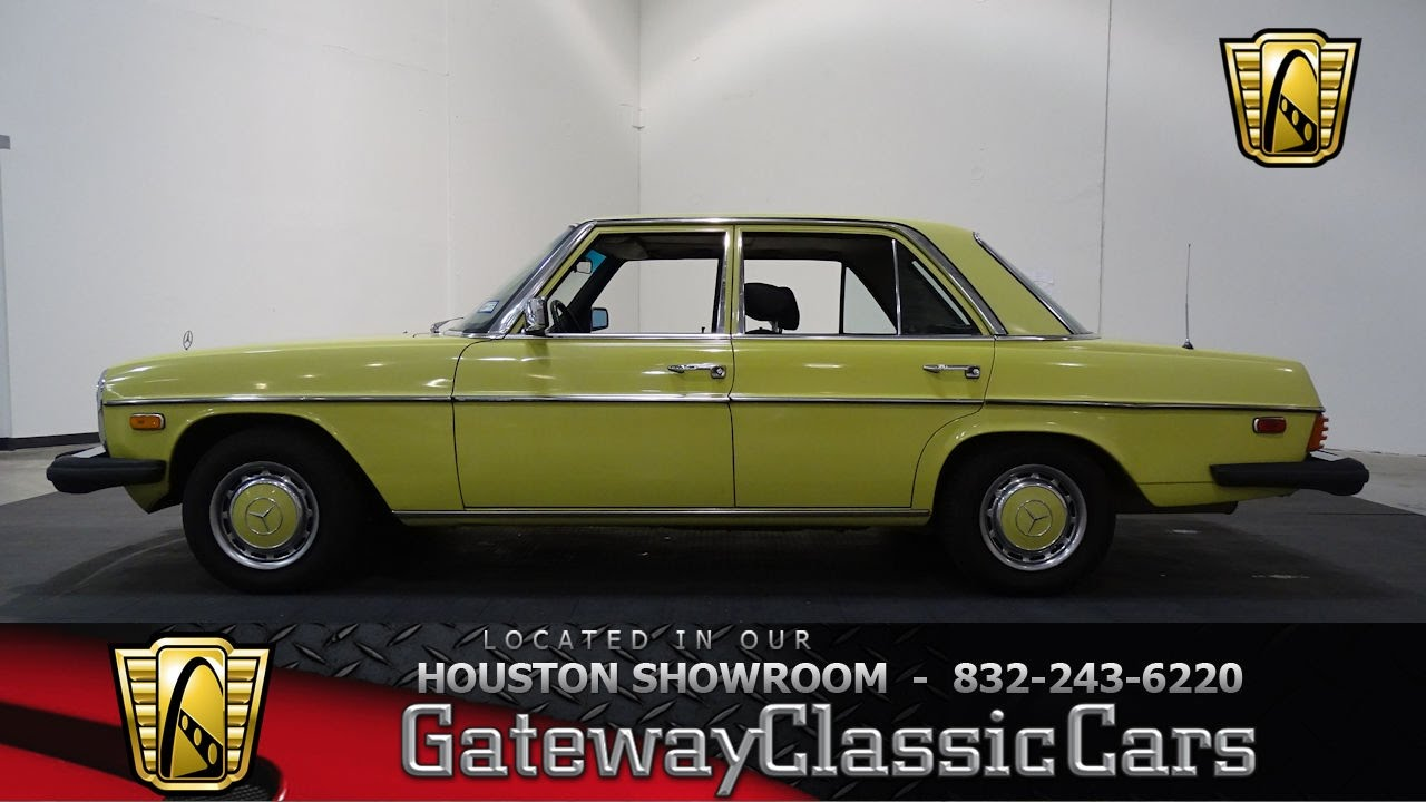 740 HOU 1976 Mercedes 300D Gateway Classic Cars Houston - YouTube