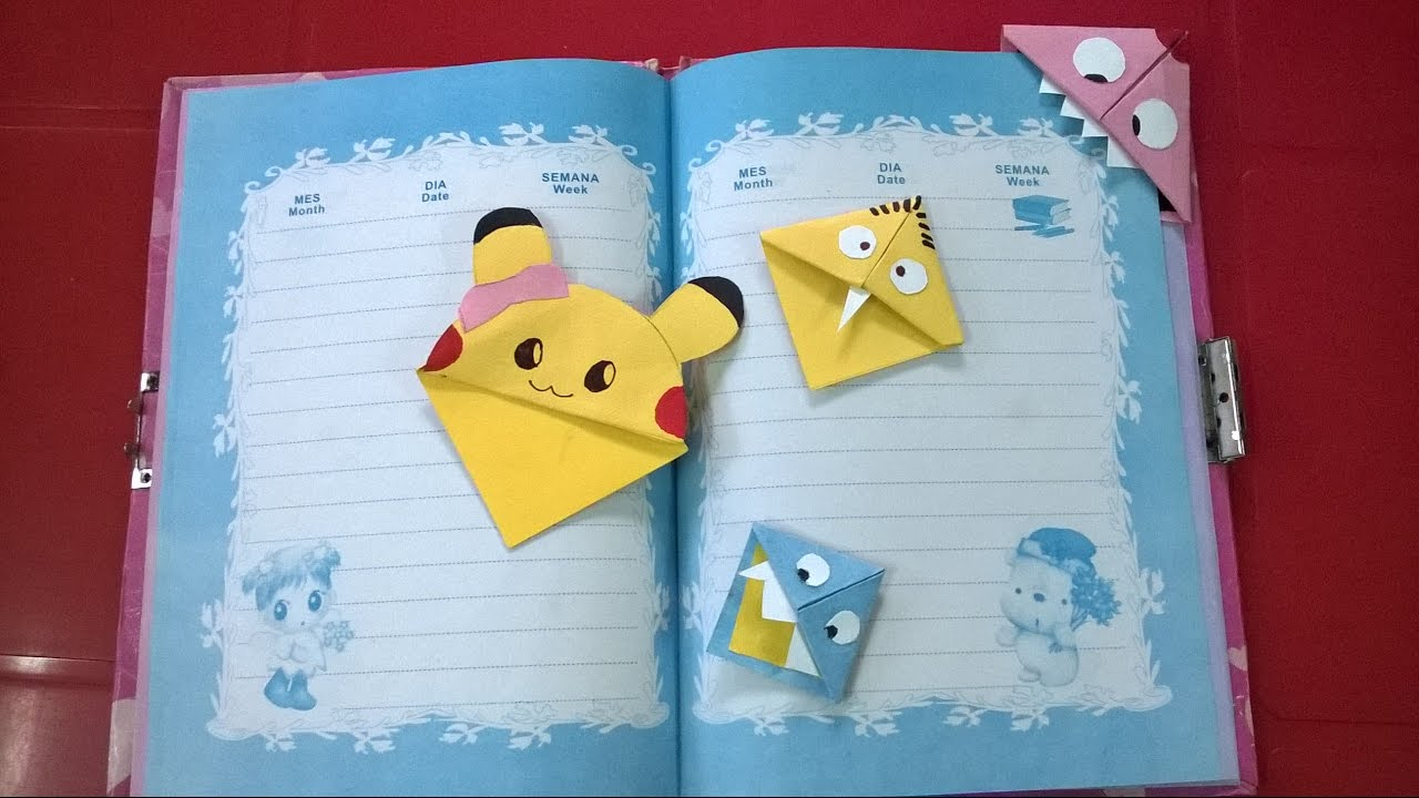 How to make a bookmark cute and easy diy cute paper for Diy crafts youtube channels