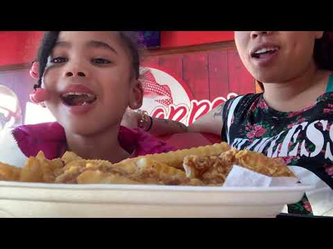 Red snapper restaurant mukbang with juice