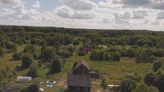 Деревня в которой я купил дом. С высоты птичьего полета
