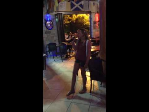 Flashlight by Jessie j karaoke at Greece