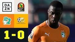 Nicolas Pepes Ivorer siegen zum Auftakt: Elfenbeinküste - Südafrika 1:0 | Afrika Cup | DAZN