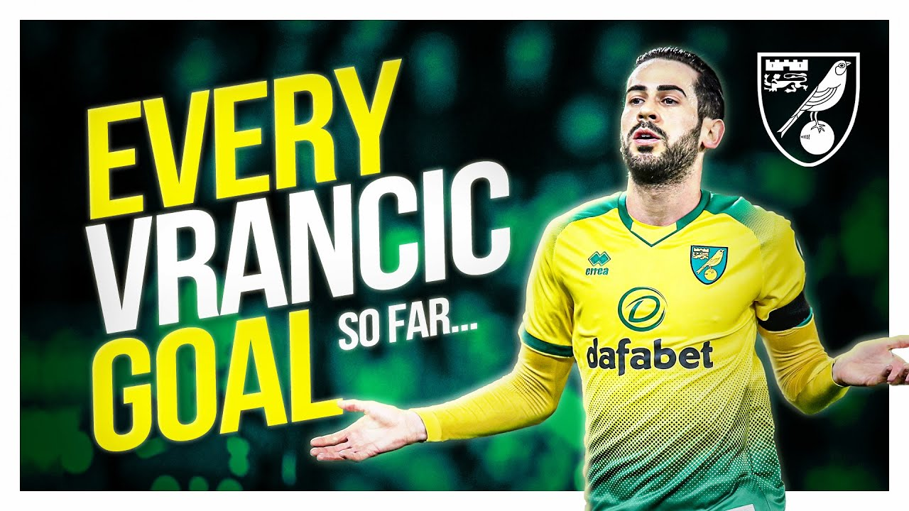 Mario Vrančić | Every Norwich City Goal So Far... | ALL FREE KICKS + LONG SHOTS 💥