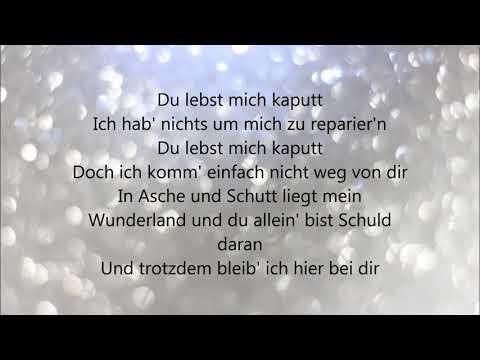 Du lebst mich kaputt - Linda Siu ft. Gentleman (lyric)