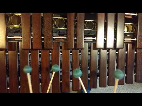 How to play the iPhone marimba ringtone on marimba