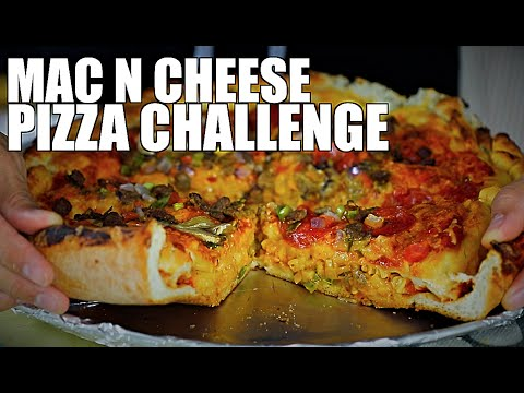 Download STUFFED MAC N CHEESE PIZZA CHALLENGE