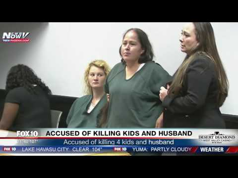 WATCH: Illegal Immigrant Mom Accused Of Killing 4 Children and Husband (FNN)