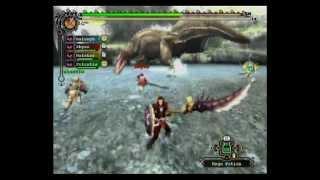 Monster Hunter Tri Online: Dual Deviljho Freehunt