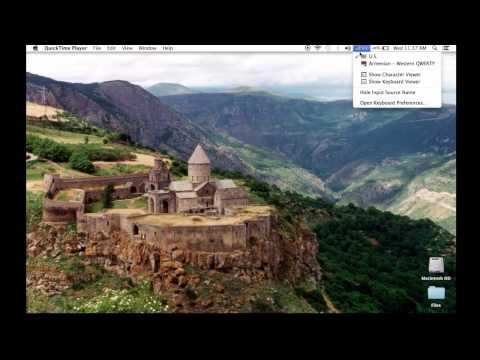 Armenian Keyboard For Mac OS - Հայերէն ստեղնաշար Mac OSի համար.