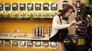 Ростер для обжарки кофе загрузкой 1 кг.