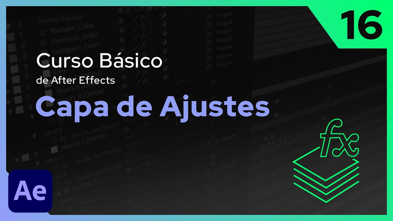 Capa de Ajustes | After Effects - Tutorial